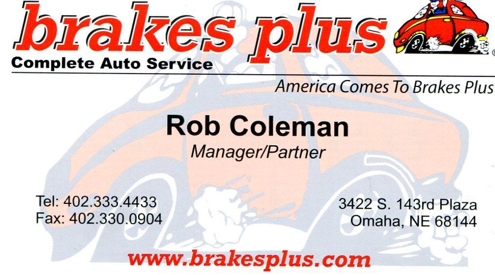 Brakes Plus Omaha Ne >> Midwest Camaro CLub Sponsors & Friends